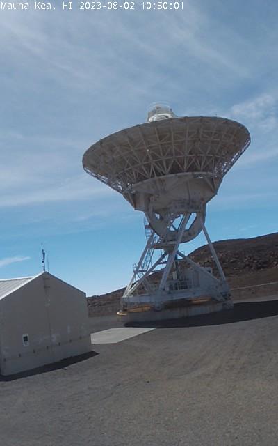 Mauna Kea VLBA antenna